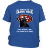Come To The Dark Side We Have San Francisco 49ers Shirts-T-shirt-District Youth Shirt-Royal Blue-XS-PopsSpot