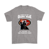 Come To The Dark Side We Have San Francisco 49ers Shirts-T-shirt-Gildan Mens T-Shirt-Sport Grey-S-PopsSpot