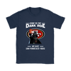 Come To The Dark Side We Have San Francisco 49ers Shirts-T-shirt-Gildan Womens T-Shirt-Navy-S-PopsSpot