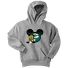 NFL – Green Bay Packers Mickey Mouse Football Shirt-T-shirt-Youth Hoodie-Athletic Heather-XS-Itees Global