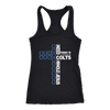 NFL – All I Need Today Is A Little Bit Of Indianapolis Colts And A Whole Lot Of Jesus Football Shirts-T-shirt-Next Level Racerback Tank-Black-XS-Itees Global