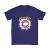 NFL – Awesome Chicago Bears Football Shirts-T-shirt-Gildan Womens T-Shirt-Purple-S-PopsSpot