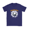 NFL – Awesome Philadelphia Eagles Football Shirts-T-shirt-Gildan Womens T-Shirt-Purple-S-Itees Global