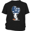 Indianapolis Colts Snoopy Football Sports Shirts-T-shirt-District Youth Shirt-Black-XS-Itees Global