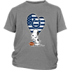 Indianapolis Colts Snoopy Football Sports Shirts-T-shirt-District Youth Shirt-Sport Grey-XS-Itees Global