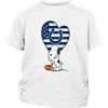 Indianapolis Colts Snoopy Football Sports Shirts-T-shirt-District Youth Shirt-White-XS-Itees Global