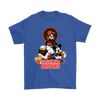 Mickey Mouse NFL Cleveland Browns American Football Sports Shirts-T-shirt-Gildan Mens T-Shirt-Royal Blue-S-Itees Global