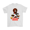Mickey Mouse NFL Cleveland Browns American Football Sports Shirts-T-shirt-Gildan Mens T-Shirt-White-S-Itees Global