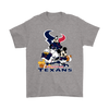 Mickey Mouse NFL Houston Texans American Football Sports Shirts-T-shirt-Gildan Mens T-Shirt-Sport Grey-S-Itees Global