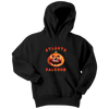 NFL - Atlanta Falcons Pumpkin Football Shirt-T-shirt-Youth Hoodie-Black-XS-Itees Global