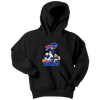NFL - Buffalo Bills Mickey Mouse Donald Duck Goofy Football Shirt-T-shirt-Youth Hoodie-Black-XS-Itees Global