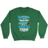 NFL – Good Girls Go To Heaven Bad Girls Go To Mercedes-Benz Stadium Atlanta Falcons Football Sweatshirt-T-shirt-Crewneck Sweatshirt-Irish Green-S-PopsSpot