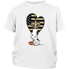 New Orleans Saints Snoopy Football Sports Shirts-T-shirt-District Youth Shirt-White-XS-PopsSpot