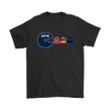 NFL - American Football Seattle Seahawks Pacman Shirts-T-shirt-Gildan Mens T-Shirt-Black-S-PopsSpot