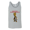 NFL - Arizona Cardinals Guardians Of The Galaxy Groot NFL Football Shirts-T-shirt-Canvas Unisex Tank-Athletic Grey-S-Itees Global