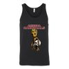 NFL - Arizona Cardinals Guardians Of The Galaxy Groot NFL Football Shirts-T-shirt-Canvas Unisex Tank-Black-S-Itees Global