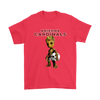 NFL - Arizona Cardinals Guardians Of The Galaxy Groot NFL Football Shirts-T-shirt-Gildan Mens T-Shirt-Red-S-Itees Global