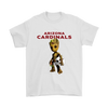 NFL - Arizona Cardinals Guardians Of The Galaxy Groot NFL Football Shirts-T-shirt-Gildan Mens T-Shirt-White-S-Itees Global