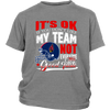 NFL – Arizona Cardinals It's Ok If You Don't Like My Team Not Everyone Has Good Taste NFL Football Shirt-T-shirt-District Youth Shirt-Sport Grey-XS-PopsSpot