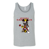 NFL - Arizona Cardinals Mickey Mouse Is Wearing A Peace Necklace Disney NFL Football Shirt-T-shirt-Canvas Unisex Tank-Athletic Grey-S-Itees Global