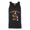 NFL - Arizona Cardinals Mickey Mouse Is Wearing A Peace Necklace Disney NFL Football Shirt-T-shirt-Canvas Unisex Tank-Black-S-Itees Global