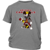 NFL - Arizona Cardinals Mickey Mouse Is Wearing A Peace Necklace Disney NFL Football Shirt-T-shirt-District Youth Shirt-Sport Grey-XS-Itees Global