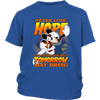 NFL – Arizona Cardinals Never Lose Hope x Mickey Mouse Shirts-T-shirt-District Youth Shirt-Royal Blue-XS-Itees Global