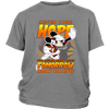 NFL – Arizona Cardinals Never Lose Hope x Mickey Mouse Shirts-T-shirt-District Youth Shirt-Sport Grey-XS-Itees Global