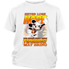NFL – Arizona Cardinals Never Lose Hope x Mickey Mouse Shirts-T-shirt-District Youth Shirt-White-XS-Itees Global