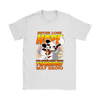 NFL – Arizona Cardinals Never Lose Hope x Mickey Mouse Shirts-T-shirt-Gildan Womens T-Shirt-White-S-Itees Global