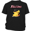 NFL - Atlanta Falcons American Football Pikachu Shirts-T-shirt-District Youth Shirt-Black-XS-Itees Global