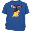 NFL - Atlanta Falcons American Football Pikachu Shirts-T-shirt-District Youth Shirt-Royal Blue-XS-Itees Global