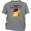 NFL - Atlanta Falcons American Football Pikachu Shirts-T-shirt-District Youth Shirt-Sport Grey-XS-Itees Global