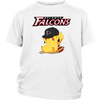 NFL - Atlanta Falcons American Football Pikachu Shirts-T-shirt-District Youth Shirt-White-XS-Itees Global
