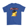 NFL - Atlanta Falcons American Football Pikachu Shirts-T-shirt-Gildan Mens T-Shirt-Royal Blue-S-Itees Global