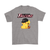 NFL - Atlanta Falcons American Football Pikachu Shirts-T-shirt-Gildan Mens T-Shirt-Sport Grey-S-Itees Global