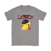 NFL - Atlanta Falcons American Football Pikachu Shirts-T-shirt-Gildan Womens T-Shirt-Sport Grey-S-Itees Global