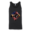 NFL - Atlanta Falcons Independence Day Football Shirts-T-shirt-Canvas Unisex Tank-Black-S-Itees Global