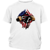 NFL - Atlanta Falcons Independence Day Football Shirts-T-shirt-District Youth Shirt-White-XS-Itees Global