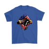 NFL - Atlanta Falcons Independence Day Football Shirts-T-shirt-Gildan Mens T-Shirt-Royal Blue-S-Itees Global