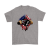 NFL - Atlanta Falcons Independence Day Football Shirts-T-shirt-Gildan Mens T-Shirt-Sport Grey-S-Itees Global