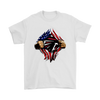 NFL - Atlanta Falcons Independence Day Football Shirts-T-shirt-Gildan Mens T-Shirt-White-S-Itees Global