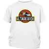 NFL - Baltimore Ravens Jurassic World: Fallen Kingdom Football NFL Shirts-T-shirt-District Youth Shirt-White-XS-PopsSpot