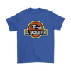 NFL - Baltimore Ravens Jurassic World: Fallen Kingdom Football NFL Shirts-T-shirt-Gildan Mens T-Shirt-Royal Blue-S-PopsSpot