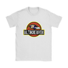 NFL - Baltimore Ravens Jurassic World: Fallen Kingdom Football NFL Shirts-T-shirt-Gildan Womens T-Shirt-White-S-PopsSpot
