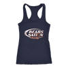 NFL – Bud Light Dilly Dilly A True Friend Of The Chicago Bears Nation NFL Football Shirt-T-shirt-Next Level Racerback Tank-Navy-XS-PopsSpot