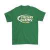 NFL – Bud Light Dilly Dilly A True Friend Of The Pittsburgh Steelers Nation NFL Football Shirt-T-shirt-Gildan Mens T-Shirt-Irish Green-S-Itees Global