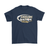 NFL – Bud Light Dilly Dilly A True Friend Of The Pittsburgh Steelers Nation NFL Football Shirt-T-shirt-Gildan Mens T-Shirt-Navy-S-Itees Global