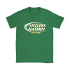 NFL – Bud Light Dilly Dilly A True Friend Of The Pittsburgh Steelers Nation NFL Football Shirt-T-shirt-Gildan Womens T-Shirt-Irish Green-S-Itees Global
