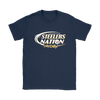 NFL – Bud Light Dilly Dilly A True Friend Of The Pittsburgh Steelers Nation NFL Football Shirt-T-shirt-Gildan Womens T-Shirt-Navy-S-Itees Global
